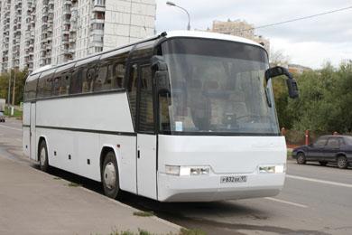 Аренда автобуса 59-60 мест в Москве - Автобус Неоплан до 60 мест