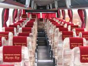Салон автобуса Неоплан на 59 - 60 мест