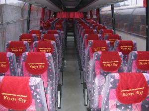 Салон автобуса Мерседес на 60 мест