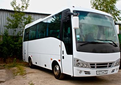 Аренда автобуса для выезда на природу