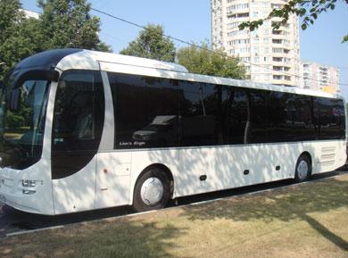 Взять напрокат автобус на 55 мест MAN Lyons Regio 2010г