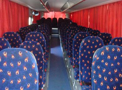 Салон автобуса MAN Lyons Regio 2010г.в. на 55 мест