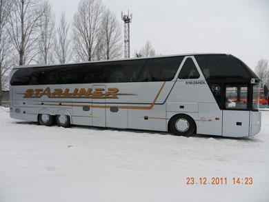 Арендовать автобус Neoplan Starliner 516 SHD в Москве (автобус на 57 мест)