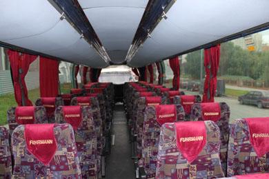 Салон автобуса Neoplan Starliner 516 SHD