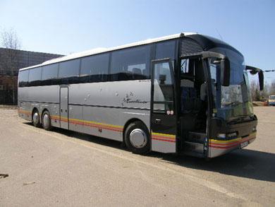 Аренда Автобуса Neoplan 316/3 SHDL 2006г в Москве (автобус на 57 мест)