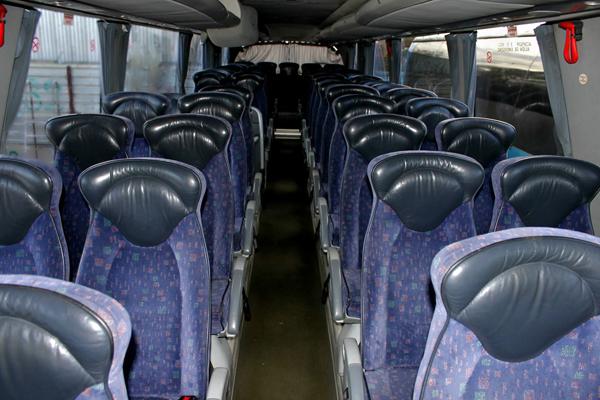Салон автобуса Скания Иризар PB VIP 2010г/в.
