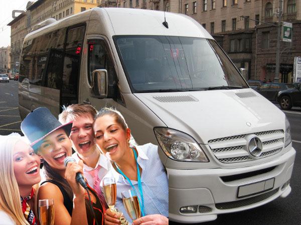 Заказ автобуса Мерседес-Спринтер-515 2010 года 21 место