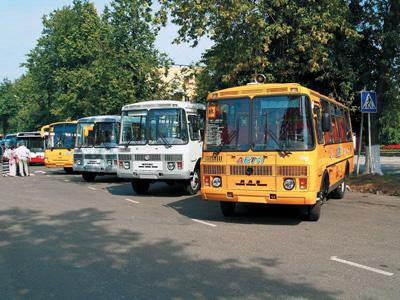 Арендовать автобус ПАЗ с водителем в Москве