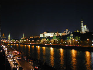 Прогулки по ночной Москве