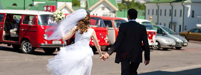 Прокат микроавтобусов на свадьбу