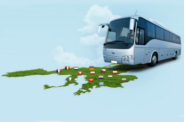 Заказать автобус для поездки по Европе