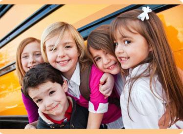 Перевозки детей автобусами
