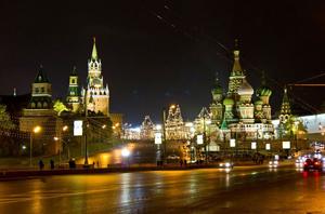 Автобусные прогулки по Москве